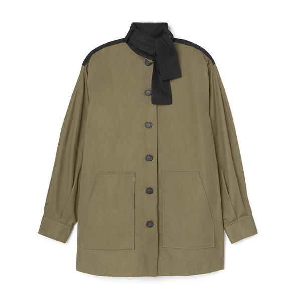 Fabiana Pigna Button-Down Shirt Jacket