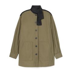 Button-Down Shirt Jacket