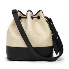Large Drawstring Bucket Bag