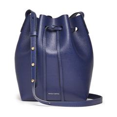 Mini Saffiano Bucket Bag