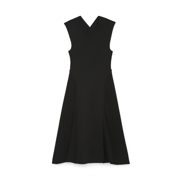 Victoria Beckham Cross Back Open Dress