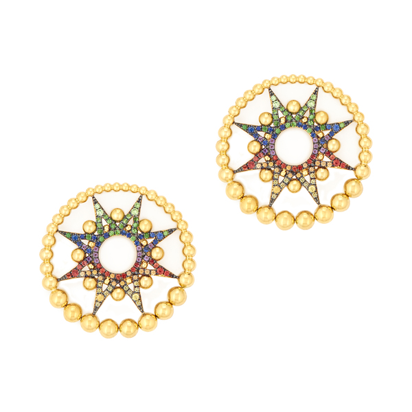 Colette Jewelry Galaxia Multi-Colored Earring