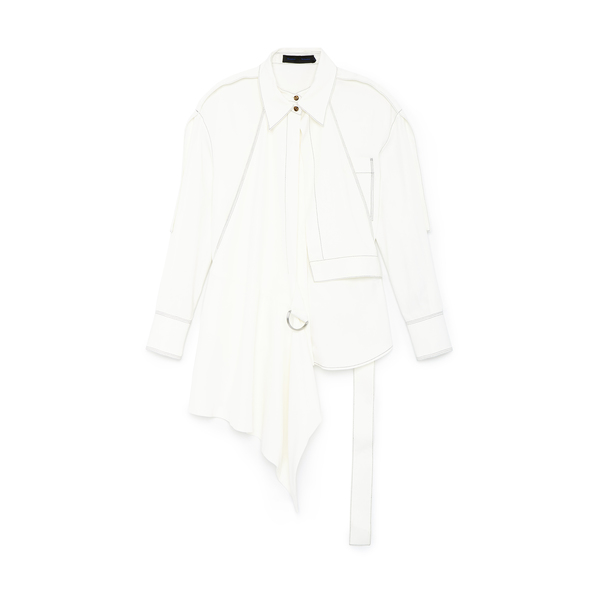 Proenza Schouler Oversized Topstitched Shirt