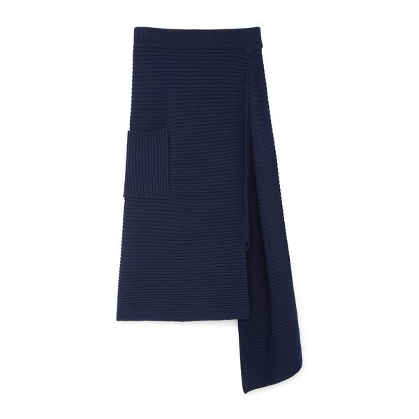 Tibi Merino Rib Sweater Skirt