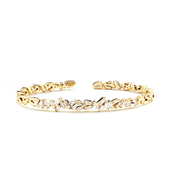 Suzanne Kalan Diamond Zigzag Firework Bangle