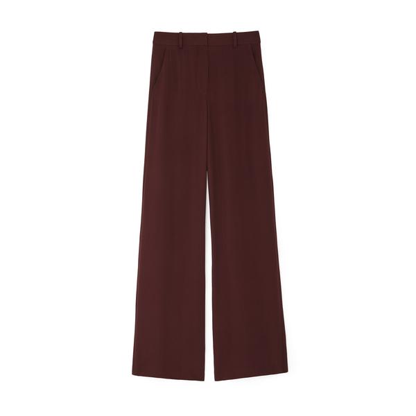 Joseph Alana Silk Crepe Trousers