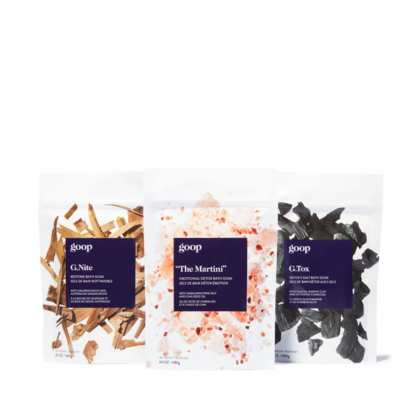 goop Beauty G. Soak Set