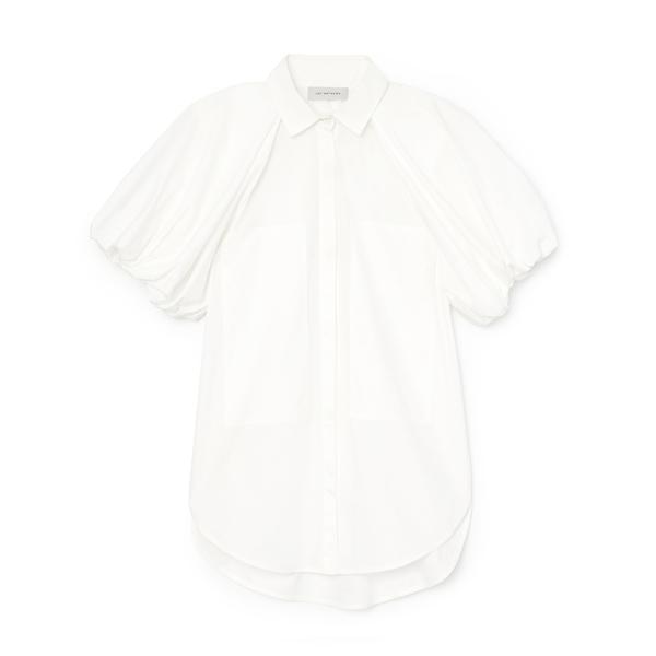 Lee Mathews Elsie Puff-Sleeve Shirt