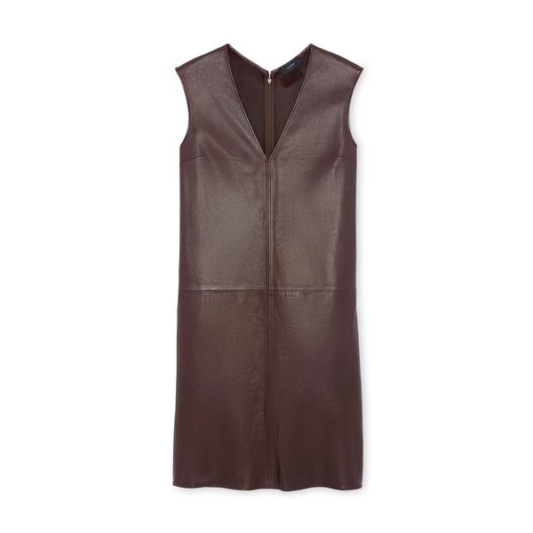 Joseph Gwen Matt Leather Dress