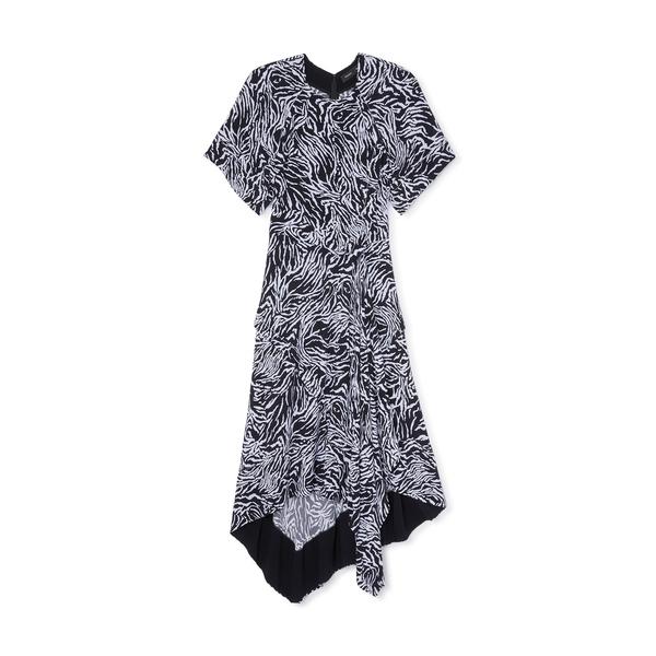 Proenza Schouler Asymmetrical Draped Dress