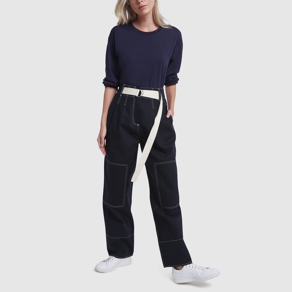 Baserange Michael Tee Cotton-Silk Bodysuit