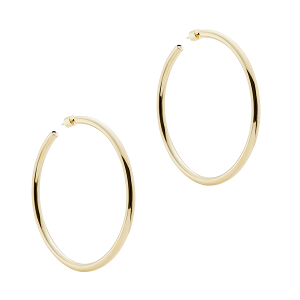 "Jennifer Fisher 2.5"" Goop Hoops"