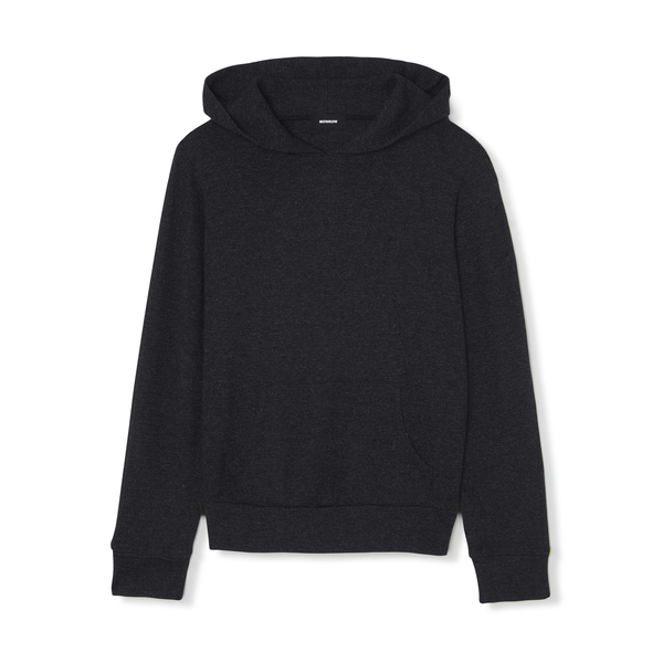 Monrow Thermal Pullover Hoodie