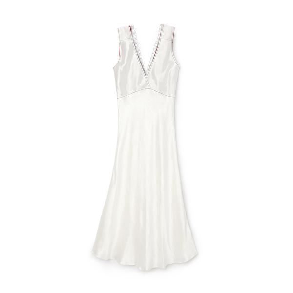 Marni Hammered Satin Sleeveless Dress