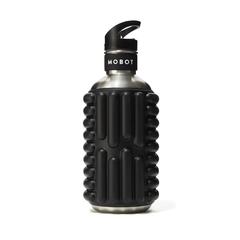 Black Foam Roller Water Bottle Big Bertha 40oz