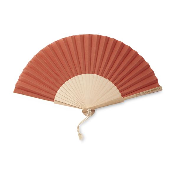 The Beach People Linen Hand Fan
