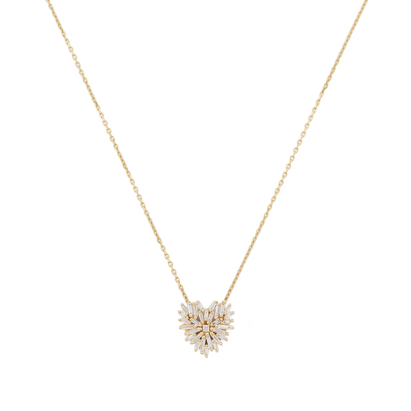 Suzanne Kalan Small Heart Necklace