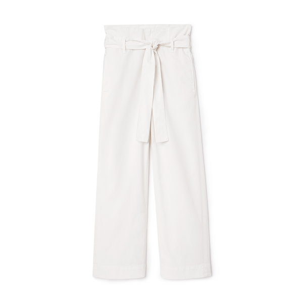 MOTHER Paperbag Greaser Ankle Pants