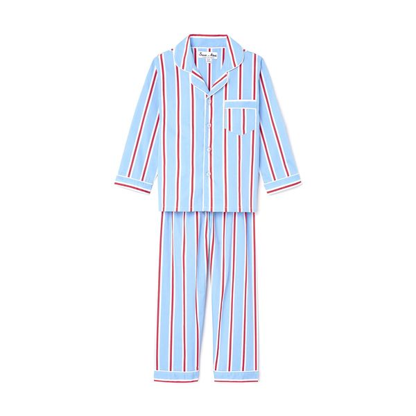 goop x Sant and Abel goop-Exclusive Kid's Long Sleeve Shirt + Pajama Pant PJ Set