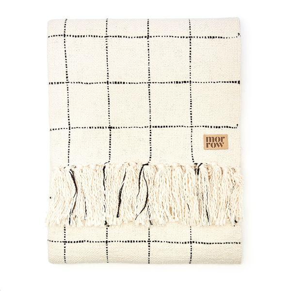 Morrow  Claude Cotton Throw Blanket