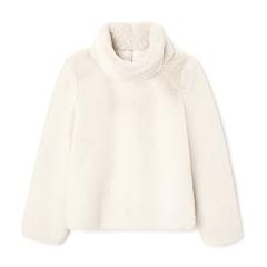 Pollard Faux-Fur Pullover