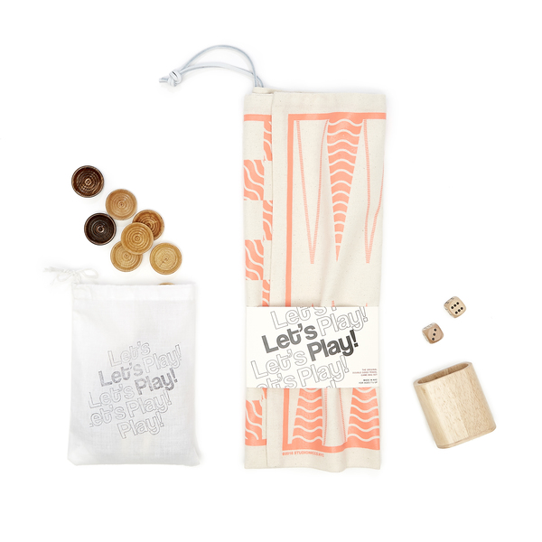 A Summer Shop   The Original Double-Sided Travel Game-bag Set