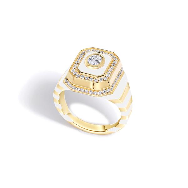State Property Tsang Diamond Pinky Ring