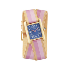 Small Cartier Tank Wrap Strap Watch