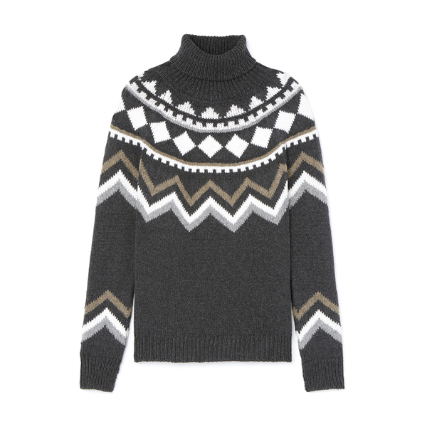 G. Label Keely Fair Isle Sweater