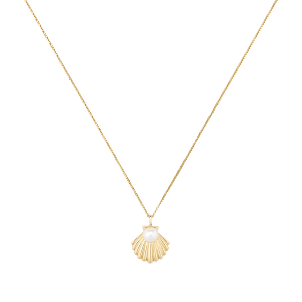 Ariel Gordon Lido Shell Pendant Necklace