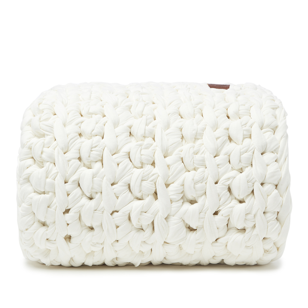 Sheltered Co. Weighted Blanket In White