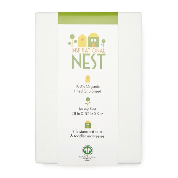 Inspirational Nest Organic Baby Crib Set