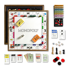 Monopoly Deluxe Vintage 5-In-1 Edition