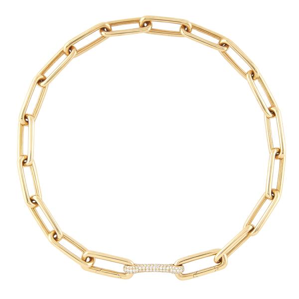 Robinson Pelham Identity Necklace with Detachable Diamond Bar
