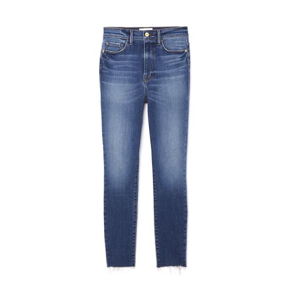 Frame Ali High-Rise Cigarette Jeans