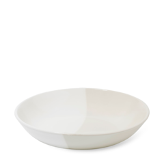 Dipped Shallow Serving Bowl