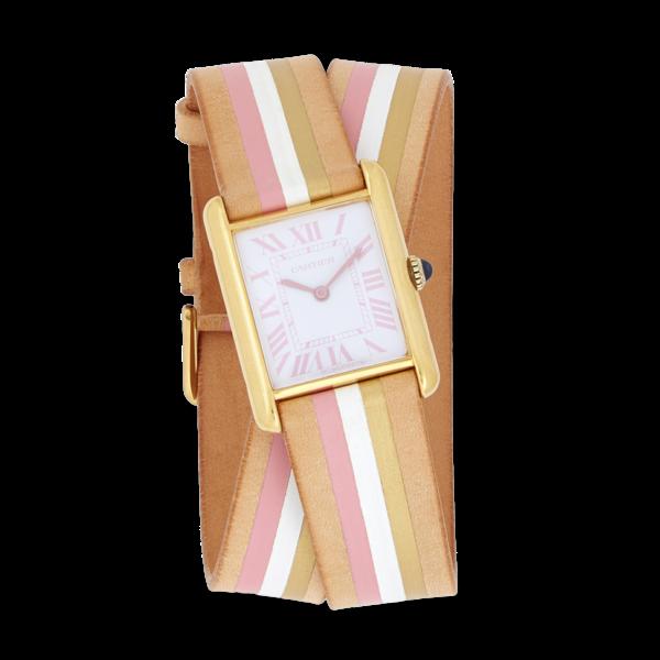 La Californienne Large Cartier Tank Wrap Strap Watch
