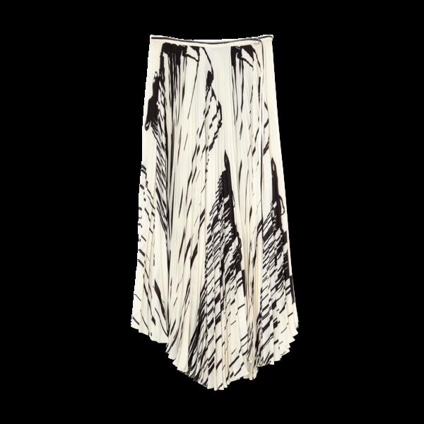 Proenza Schouler Pleated Wrap Skirt
