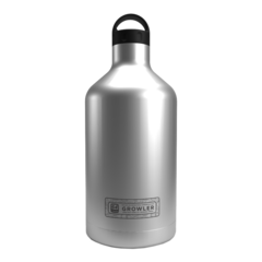 64 oz. Brushed Stainless Insulated Growler