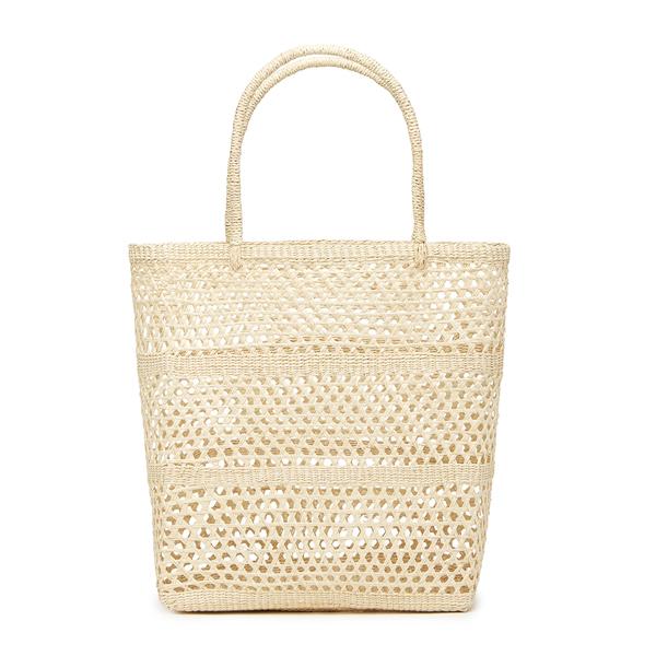 Sensi Studio Solid Calado Basket Tote