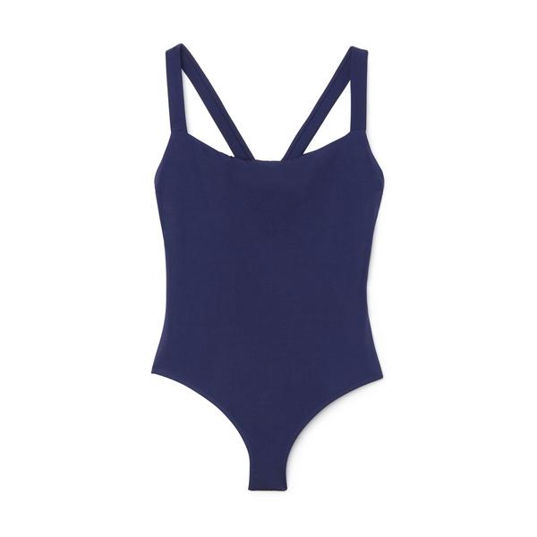 Talia Collins The Cross-Back Swimsuit