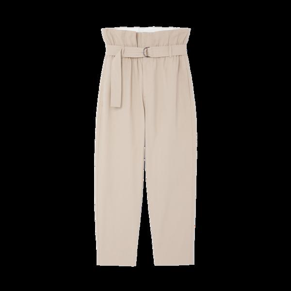 Bassike Paper-Bag Pants