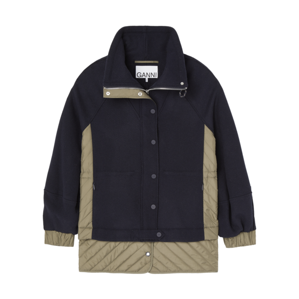 Ganni Tech Wool Jacket