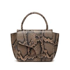 Montalcino Snake Print Bag