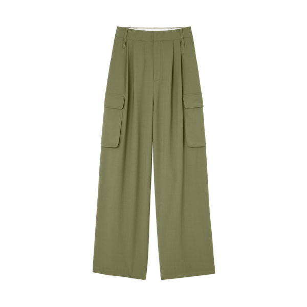 Tibi Pleated Cargo Pant