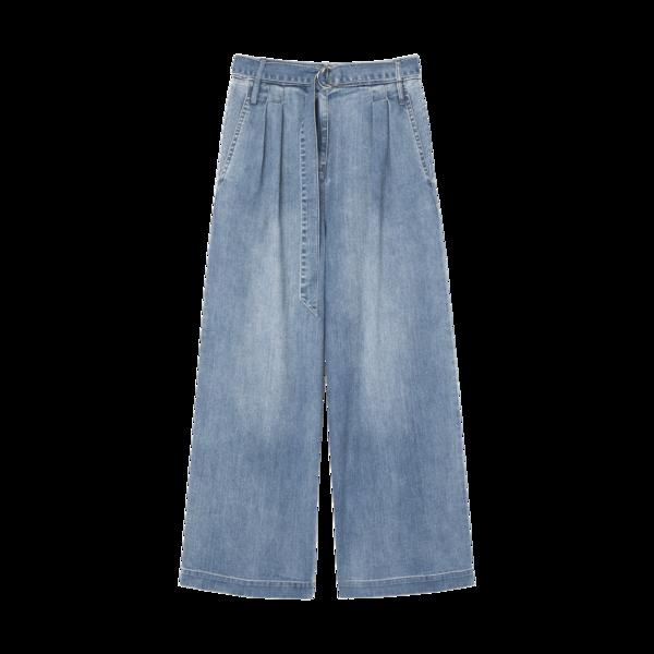 Tibi Vintage Stone Denim Stella Pants