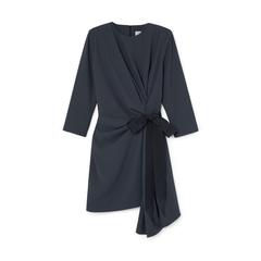 Lai Side-Pleat Dress
