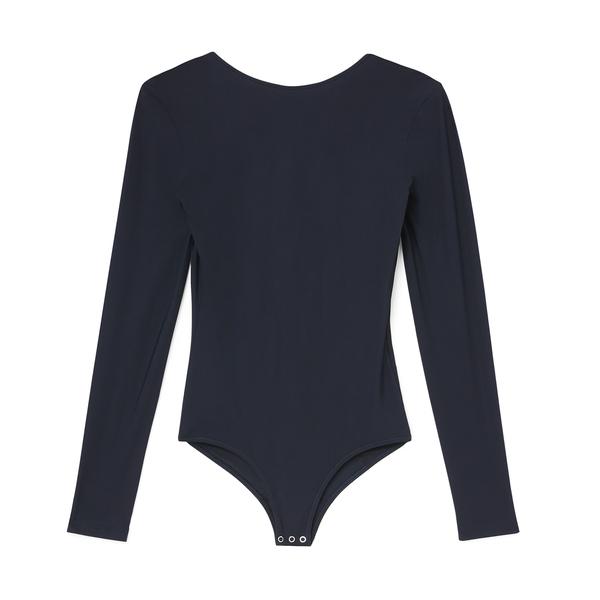 Goldsign The Deep V-Back Bodysuit