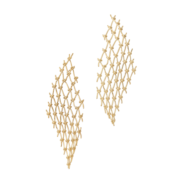 Sarah & Sebastian Large Net Earrings