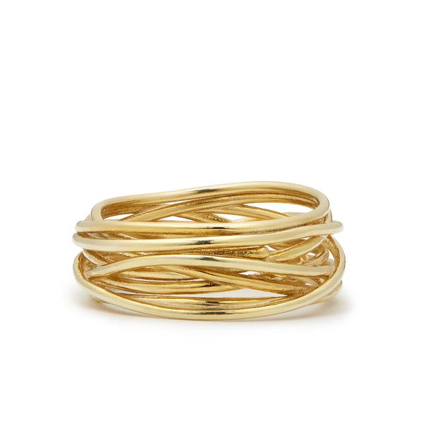 Sarah & Sebastian Wire Bound Ring